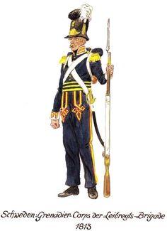 Guard Grenadier of the Lifeguards Brigade Grenadier de la Garde