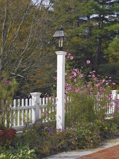 Avon Lantern Post - A 5 sq. post with dignity and understated elegance. 76 H. Shown with a Lexington lantern Outdoor Lamp Posts, Outdoor Post Lights, Outdoor Lighting, Lighting Ideas, Tall Lanterns, Lanterns Decor, Front Porch Landscape, Front Yard Landscaping, Landscaping Ideas
