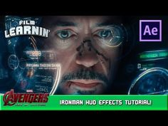 Iron Man HUD After Effects Tutorial! | Film Learnin - YouTube