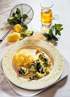 Detox-Diät - Kur 7. Tag: Mittagessen - Brokkoli mit Rahmsauce