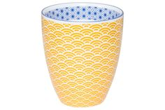 Beker Porselein Star-Wave 8.7x9.8cm - Homeland ›› Sissy-Boy