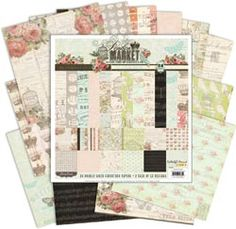 "London Market Double-Sided Paper Pack 12""X12"" 24/Sheet"