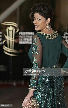 Beautiful green Takshita (Moroccan traditional dress)