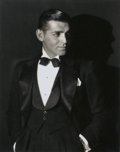 Clark Gable looked a heck of a lot like George Clooney