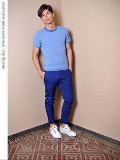 Fabrizio Del Carlo SS15 Mensknitwear