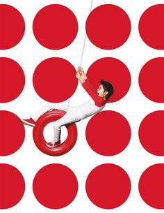 Target's logo is elegantly simple. One dot. One ring. We created a brand campaign that actively deconstructs this iconic graphic identity. Instead of a static symbol, it becomes a rhythmic pattern, and a playful player in the choreography of life.The re…