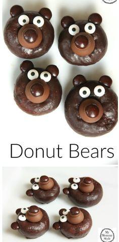 awesome Hershey's Kisses Chocolates Mini Chocolate Donuts