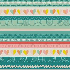 print & pattern: FABRICS - art gallery : playing pop
