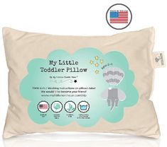 The 13 Best Toddler Pillows Reviews in 2019 ~ bestguidepro.com Baby Pillows, Kids Pillows, Throw Pillows, Toddler Pillow, Pillow Reviews, Dust Mites, Memory Foam, Fabric, Tejido