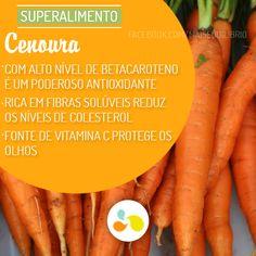 Incluia cenoura no seu cardápio? Mais dicas como essa em: http://maisequilibrio.terra.com.br