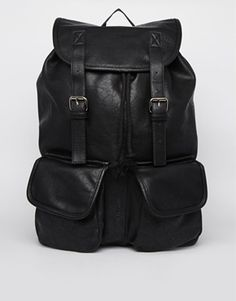River Island Backpack in PU