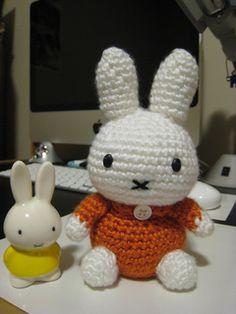 Miffy Amigurumi - Free Pattern - PDF Version Gift set w/ Miffy book rabbit bunny cartoon tags: ravelry free crochet pattern cute
