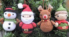 Christmas Crochet Pattern Crochet Christmas Ornament Pattern
