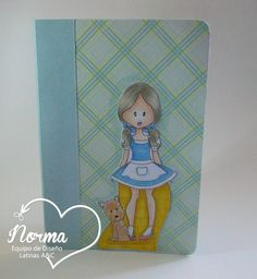Latinas Arts and Crafts: Interpretaciones Tutorial # 30: Mini Cuadernos doble bolsillo