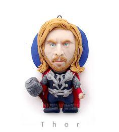 AVENGERS - Thor - CLAY SCULPTURES by buzhandmade.deviantart.com on @deviantART