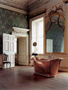 My dream a copper standing bath tub. Big old style tub with four legs