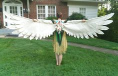 Items similar to Phoenix Wings- Raw Canvas on Etsy Belly Dance Costumes, Cool Costumes, Theatre Costumes, Cosplay Costumes, Halloween Kostüm, Halloween Cosplay, Halloween Costumes, Cosplay Wings, Cosplay Diy