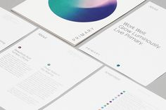 Brand identity for New York co-working and wellness concept Primary designed by…