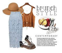 """""""brunch"""" by shalinisemail on Polyvore featuring Steve Madden, Baum und Pferdgarten, House of Harlow 1960 and Simon Paul Scott"""