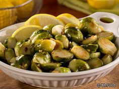 Lemony Brussels Sprouts | EverydayDiabeticRecipes.com