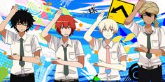 Tsuritama (Anime)  This is one of the best anime's l've seen in a while! I love the opening!