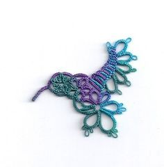 Tatting Fool: Pretending and Remembering Jan 17, 2012. Karey Solomon's hummingbird, from her book Make Many Merrily, tatted by Miranda