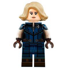 Invisible Woman Lego Marvel's Avengers, Lego Marvel Super Heroes, All Lego, Lego Dc, Lego Custom Minifigures, Amazing Lego Creations, Lego Pictures, Lego Spaceship, Invisible Woman