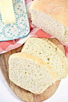 Grandma's Country White Bread Jack Food, Healthy Bread Recipes, Yummy Recipes, Healthy Breads, Recipies, Cookie Recipes, Dessert Recipes, Breakfast Recipes, Homemade White Bread