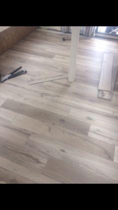New flooring going in !!