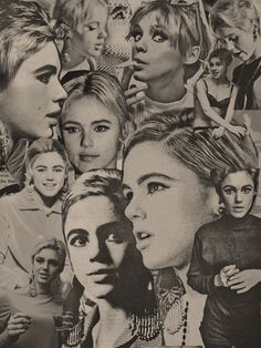 Only Edie Sedgwick /// In the beginning of the celeb-cult world, there was Edie, who was a Warhol Superstar, who's serious fame was all for posing as a hipster by the name of Edie. Circularity that has led all these years later to the Kardashians Complex. AC