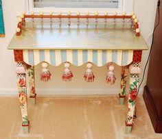 McKenzie Childs desk table
