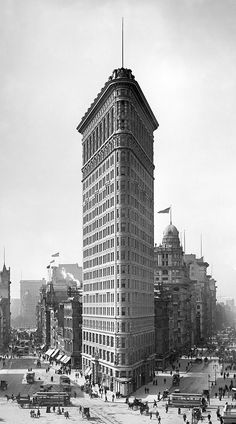 Flat iron building New York Detroit Publishing Company Photo New York, New York Photos, Empire State Building, Edificio Flatiron, New York City Buildings, New York Photography, Travel Photography, New York Architecture, Flatiron Building