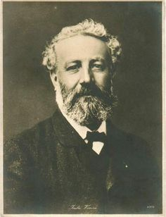 size: Photographic Print: Jules Verne, French Adventure and Science Fiction Author, Late Century : Book Writer, Book Authors, Science Fiction Authors, Famous Novels, Leagues Under The Sea, Writers And Poets, People Of Interest, Jules Verne, Great Books