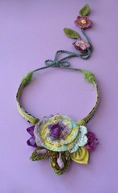 necklace by  Elena Fiore