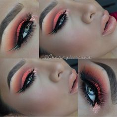 makeup everyday eyeshadow looks easy makeup tips with pictures to do eyeshadow makeup step by step makeup guide makeup for beginners makeup for hooded eyes makeup idivine eyeshadow palette Makeup Goals, Makeup Inspo, Makeup Inspiration, Makeup Ideas, Makeup Geek, 80s Makeup, Sleek Makeup, Clown Makeup, Makeup Designs