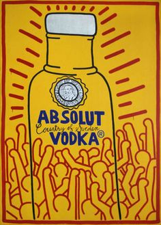 Absolut Art Collection - Keith Haring