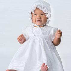 03d9a28a9 Sarah Louise Christening Dress and Bonnet 10645 Christening Gowns, Christening  Dresses