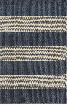 Dash And Albert Denim Ticking Woven Area Rug - This Blue rug would make a wonderful addition to any room. Wall Carpet, Diy Carpet, Modern Carpet, Carpet Ideas, Sisal Carpet, Carpet Decor, Magic Carpet, Carpet Flooring, Jute Rug