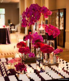 Pretty escort card table  more inspiration @Modern Rani.com