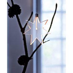 LED Leuchtstern Vorderansicht