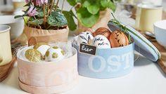 Osternest basteln → Bastel-Anleitung für schöne Osterkörbchen