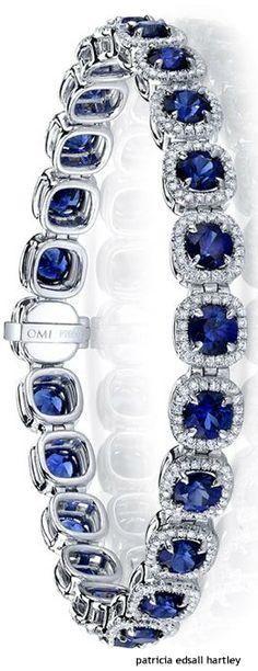 Sapphire Jewelry solid gold genuine sapphire necklace solitaire necklace… Ceylon Cornflower Blue Sapphire in White Gold Diamond Sapphire Bracelet, Sapphire Jewelry, Sapphire Earrings, Diamond Bracelets, Sapphire Diamond, Diamond Jewelry, Ankle Bracelets, Silver Bracelets, Diamond Choker