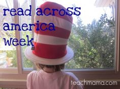 {fab resources for read across America week} Wonderful collection of Seuss ideas!