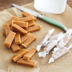 Homemade Caramels Recipe - Dessert for Two & ZipList