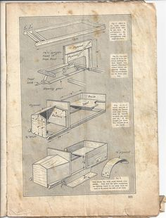 build your own vintage pedal car plans handicrafts magazine 1928page 24