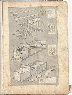 build your own vintage pedal car plans. handicrafts magazine 1928.page 2/4