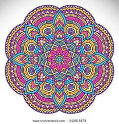 Find Flower Mandala Vintage Decorative Elements Oriental stock images in HD and millions of other royalty-free stock photos, illustrations and vectors in the Shutterstock collection. Mandala Art, Indian Mandala, Mandala Drawing, Mandala Painting, Flower Mandala, Mandala Pattern, Mandala Design, Mandala Colour, Hamsa Art