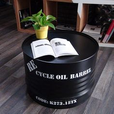 Giving new life to old oil barrels require creativity, and there are ways to recycle oil drum into beautiful furniture. The concept of oil drum furniture is a refreshing take on how modern interiors can be livened-up with such creative ideas.