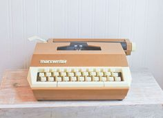 Marxwriter Typewriter Kids Typewriter Vintage by MollyFinds, $40.00 Marxwriter, Typewriter, Kids Typewriter, Vintage Typewriter, Toy Typewriter, Retro Typewrite, Marx typewriter, Made JAPAN, Set Design, Prop