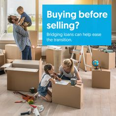 Buying before selling? Bridging loans can help ease the transition (and they're not as scary as they used to be!